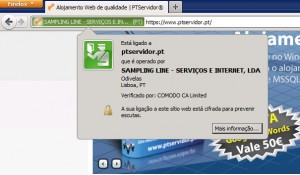 Certificado SSL PTServidor