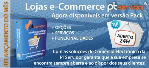 Lojas e-Commerce PTServidor